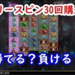 【オンラインカジノ】フリースピン30回購入したら勝てる?負ける?【ホワイトラビット(White Rabbit)】