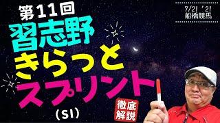 【田倉の予想】第11回 習志野きらっとスプリント(SI) 徹底解説!