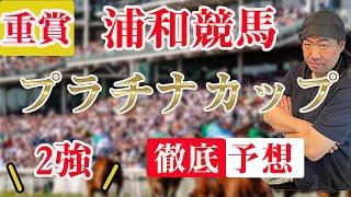 重賞【 地方競馬予想 】7/22 浦和競馬場11R プラチナカップ