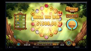 オンラインカジノで資金を増やす!!$1400スタート【コニベット】・・・大逆転!!捲りました!!